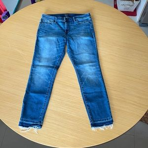 Abercrombie Fitch Harper ankle jeans size 28(6)